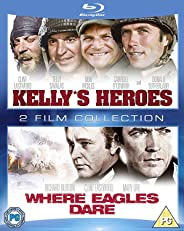 Clint Eastwood 2 Movies Collection: Kelly's Heroes + Where Eagles Dare (2-Disc Set) (Region Free + Fully Packaged Import)