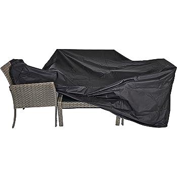 Schutzhülle für große Sitzgruppen schwarz 300x250x100 cm wasserdicht
