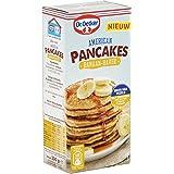 Dr.Oetker American Pancakes Banaan Haver - mix voor 20 pancakes (300 g)