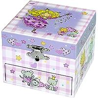 Trousselier - Prinzessin - Musikschmuckdose - Spieluhr - Ideales Geschenk für junge Mädchen - Musik Feelings - Farbe…