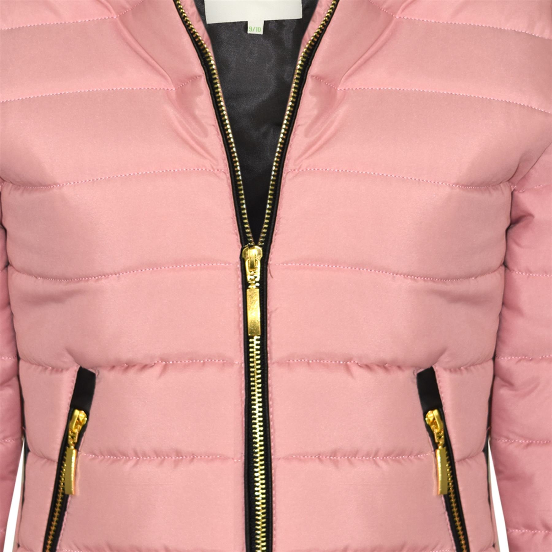 24aa79161 A2Z 4 Kids® Girls Jacket Kids Stylish Padded Puffer Bubble Faux Fur ...