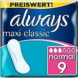 Always Maxi Classic Binden, ohne Flügel (1 x 9 Stück)