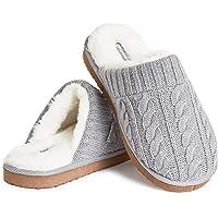 Dunlop Ciabatte Uomo, Pantofole Pelose E Calde da Casa Invernali, Idee Regalo Compleanno, Fluffy Slippers Memory Foam…