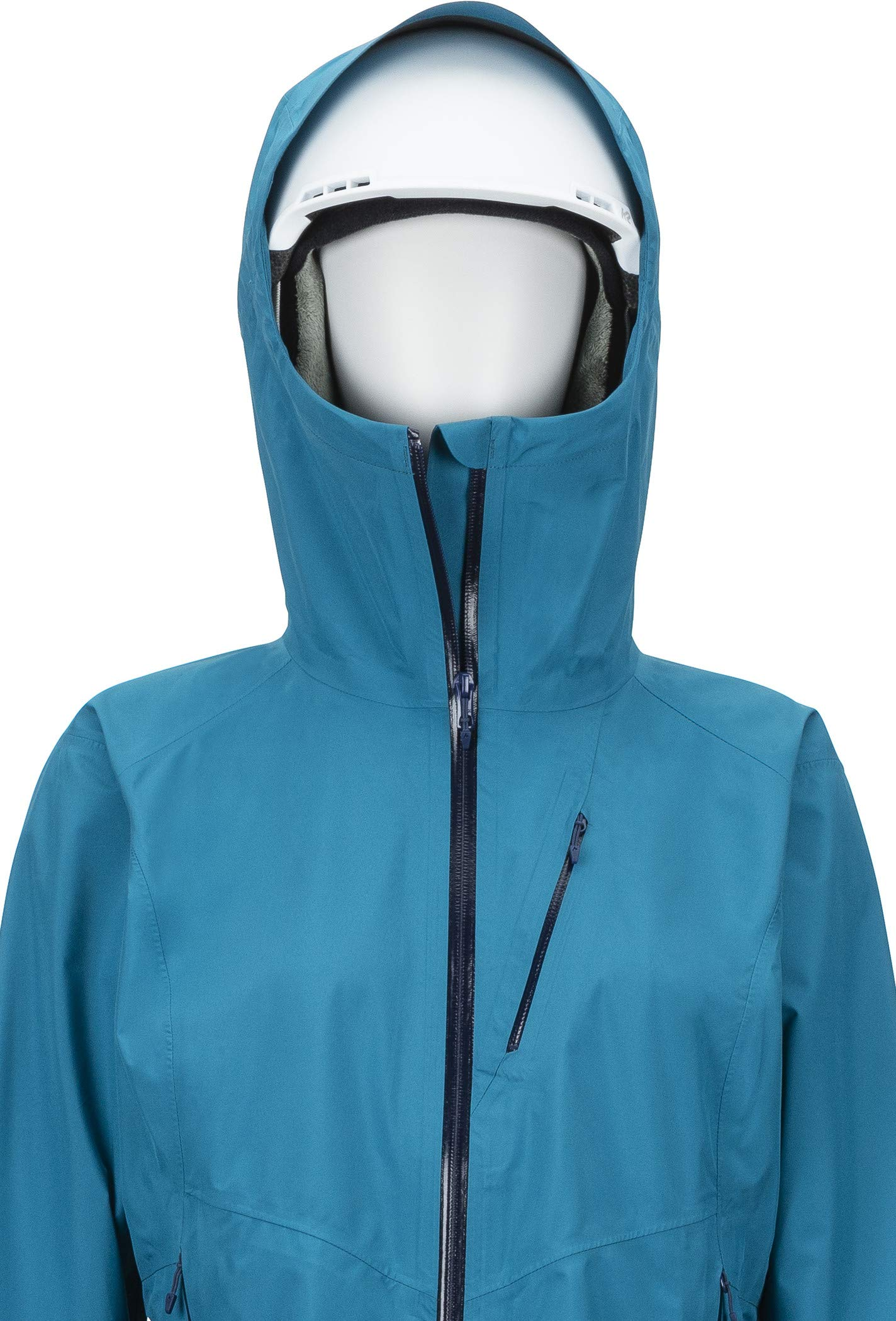 81Py9DKyWBL - Marmot Women's Wm's Knife Edge Hardshell Rain Jacket, Raincoat, Windproof, Waterproof, Breathable
