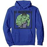 Marvel Hulk Be Incredible Adult Sweat à Capuche
