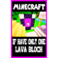 Minecraft: If Have Only One Lava Block