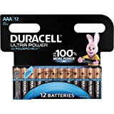 Duracell Ultra Power Alkaline AAA Batterien, 12er Pack