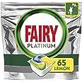 Fairy Platinum Capsules pour lave-vaisselle Citron, 65 er Paquet