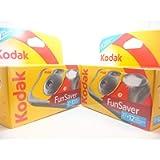Kodak Disposable Flash Cameras - 39 Exposures - Pack of 2