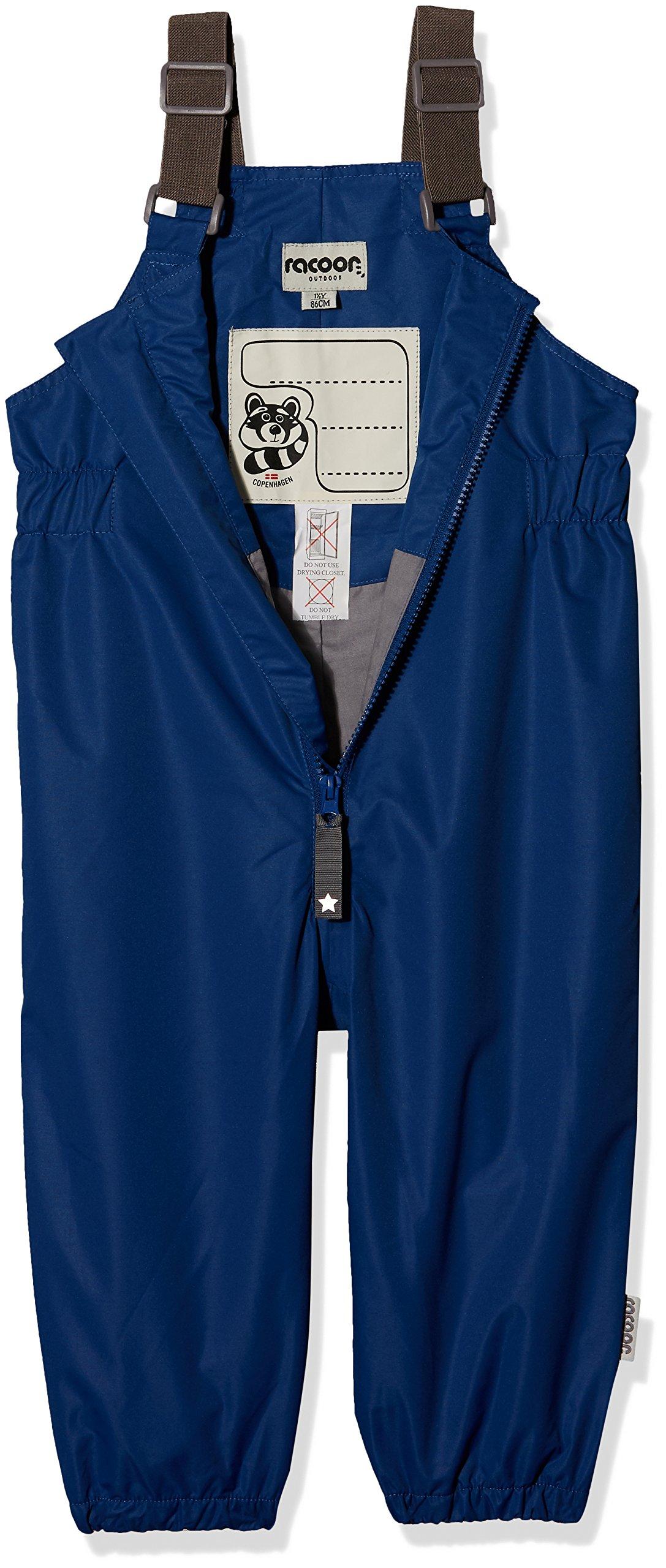 Racoon Pantalones Impermeables Unisex bebé 3