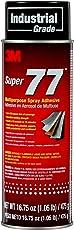 3M 77 Super Multipurpose Adhesive Aerosol, Clear 16.75 Oz, Aerosol Can