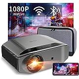 "Proyector WiFi Bluetooth 8000 Lúmenes, Artlii Energon2 Proyector Full HD 1920x1080P Nativo Soporta 4K, 300"" Proyector Cine en"