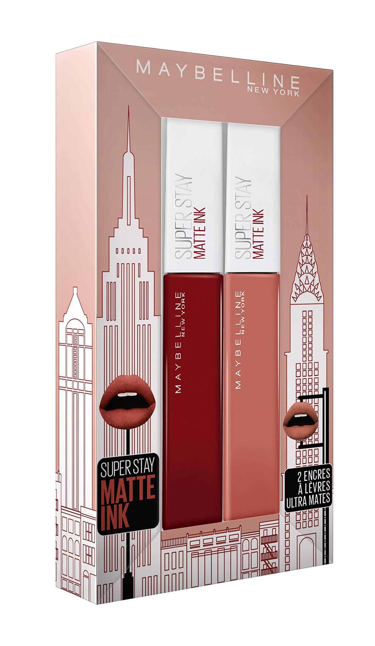 Maybelline New York regalo Superstay Matte Ink 50Voyager/70del Amazonas