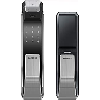 Samsung Digital Door Lock SHS-P718 Fingerprint Push Pull Two Way Latch Mortise