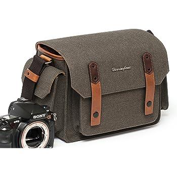 Herringbone Camera Bag DSLR Case Papas Pocket Mini Messenger Bag Season III H1124 Brown