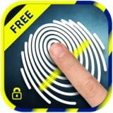Fingerprint-Sperre Bildschirm Streich