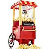 Gadgy ® Machine à Pop Corn | Retro Popcornmaschine Maker | Air Chaud Sans Gras Huile