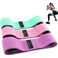 BEAU-PRO Elastici Fitness (3 Pezzi), Bande Elastiche di Resistenza Set di 3 Colorate Fasce Elastiche Fitness in Tessuto…