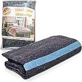 PimPam Factory – Lot de 5 couvertures de protection pour déménagement de 140x200, 410gm d'épaisseur - Protection et sécurité