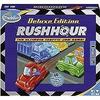 Ravensburger - Rush Hour Deluxe - Jeu de logique Casse-tête - ThinkFun - 60 défis 5 niveaux - 1 joueur ou plus dès 8 ans…