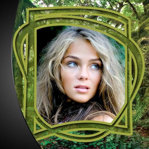 Dschungel-Fotorahmen -