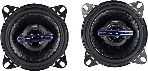 Strike 4 Inche,car Door speeaker 4' Car Speakers (Pack of 2)
