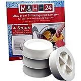 M&H-24 Amortisseurs / Vibration Silencieux / Tapis Anti-Vibration pour Machine à laver et sèche-linge, Machine à laver Access