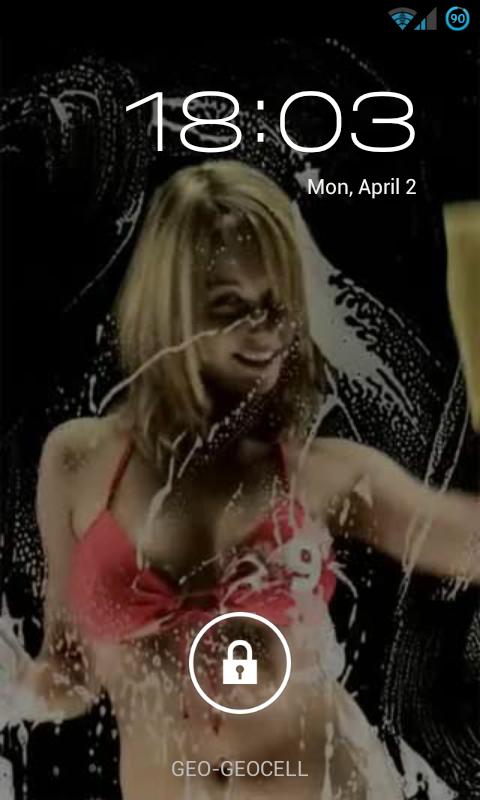 Bikini Girl Screen Washer Live Wallpaper For Android - gaurani