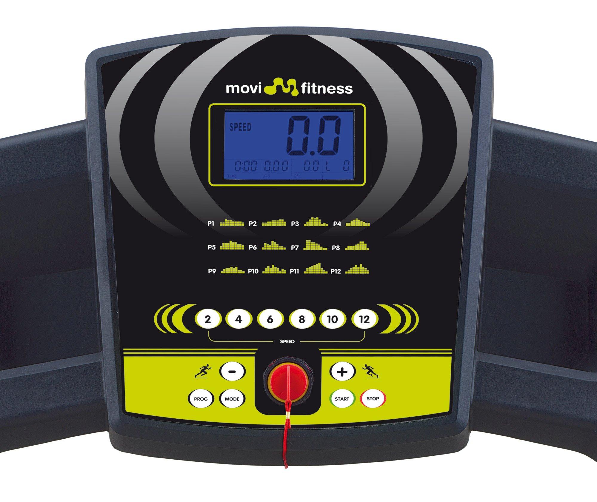 Movi Fitness Tapis Roulant MF260, Elettrico, Pieghevole, Salva Spazio, Professionale, Servizio Assistenza a domicilio 3 spesavip
