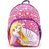 Disney Rapunzel Princess 12 Inch 10L Sublimation Printed Polyester School Backpack for Kids
