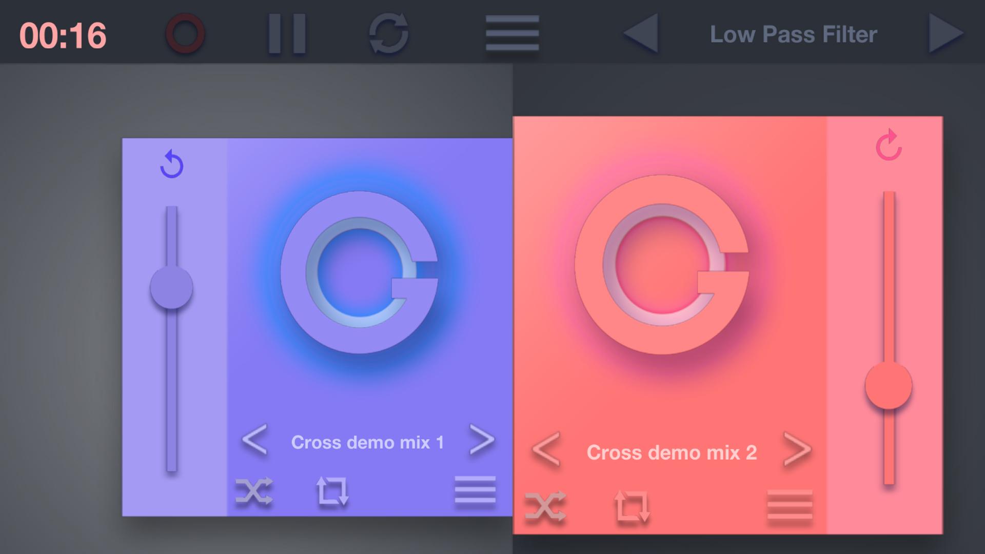 Crossfade Dj - Music & audio mixer player free: Amazon co uk