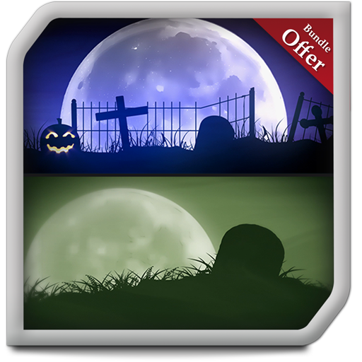 Spooky Graveyard HD - Decor your Halloween Party with Creepy Horror TV - Tv Party-halloween