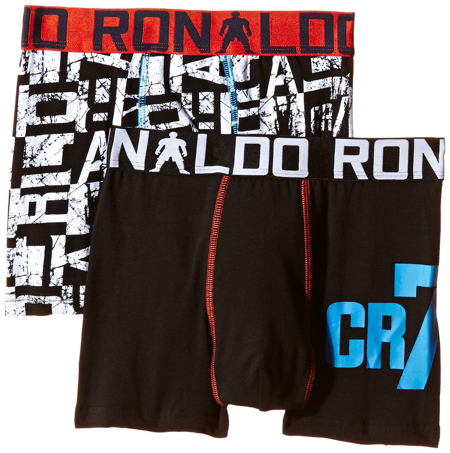 CR7 CRISTIANO RONALDO Boxer per bambino, aderenti, 2 pz