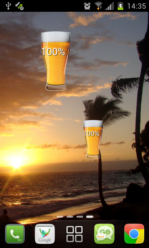 Beer Battery Widget: Amazon.co.uk: Appstore for Android