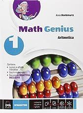 Math genius. Aritmetica-Geometria-Palestra delle competenze. Per la Scuola media. Con e-book. Con espansione online: 1