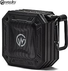 WOOKY AQUASTONE-10 5W Wireless Waterproof Bluetooth Portable Outdoor Speaker (Black)