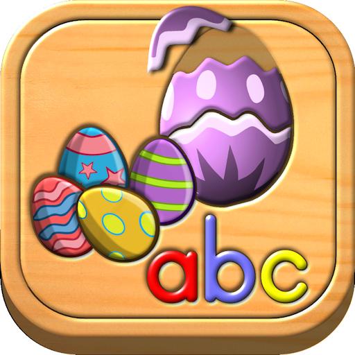 Puzzle Logik und Memory-Spiele für Kinder im Vorschulalter (Ostern Elemente)