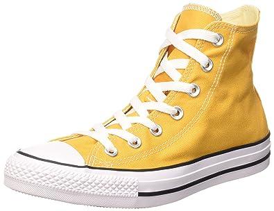 converse haute jaune