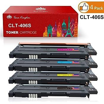 Starover 4x Kompatibel Tonerkartuschen Fur Clt 406s Clt K406s Toner