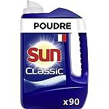 Sun Poudre de Lavage Lave-Vaisselle Classic x90, Efficace contre les tâches les plus tenaces, Formule concentrée et efficace,
