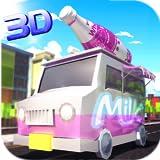 Milk Delivery Driver Simulator 3D: Delivery Tycoon Food Transporter in Van Simulation Giochi gratuiti per bambini 2018