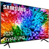 """Samsung UHD 2020 43TU7105- Smart TV de 43"""", 4K, HDR 10+, Crystal Display, Procesador 4K, PurColor, Sonido Inteligente, Funció"""