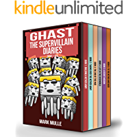 Ghast the Supervillain Diaries Books 1 to 6: Unofficial Diary of a Minecraft Nether Mobs - Minecraft Book for Kids…