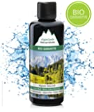 Saunaaufguss mit 100% BIO-Öle Waldaufguss Fichte Latschenkiefer Alpenzirbe Minze (100ml). Natürlicher Sauna-aufguss mit Sauna-ätherische-Öle im Aufguss-Mittel. Saunaduft natrurrein/Bio-Saunaöl