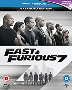 Fast & Furious 7 [Blu-ray] [2017] [Region Free]