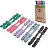 KNOCKY 10 Stuks Siliconen Earsaver – Oorbeschermer Masker Clip en Oorbeschermend Tussenstuk – Mondkapjes-Draagband met Aanpas