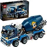 LEGO 42112 Technic Betonmixer, Bouwvoertuigen Collectie Bouwset, Speelgoed Vrachtwagen, Verzamel en Displaymodel Voor Jongens