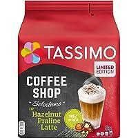 Tassimo Kapseln Coffee Shop Selections Typ Hazelnut Praline Latte, 40 Kaffeekapseln, 5er Pack (5 x 8 Getränke) nur für…