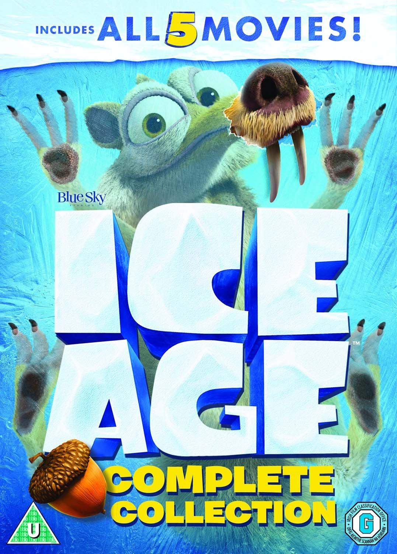 Ice Age A Mammoth Christmas.Ice Age 1 5 Plus A Mammoth Christmas Box Set Dvd 2002 Xmas Uk