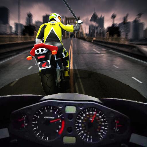 Death Race in Moto 3D (Mx-girl)